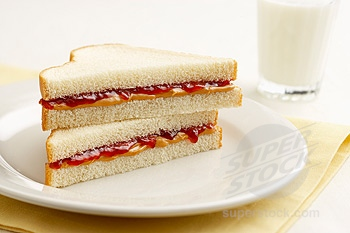 "The ""classic"", not so healthy PBJ"