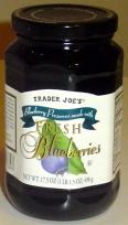 Trader Joes' Blueberry Jam!