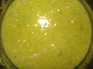 Soup fully blended