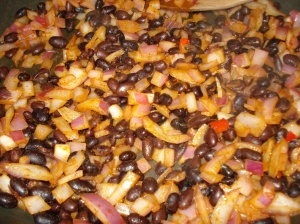 Black Bean Mixture