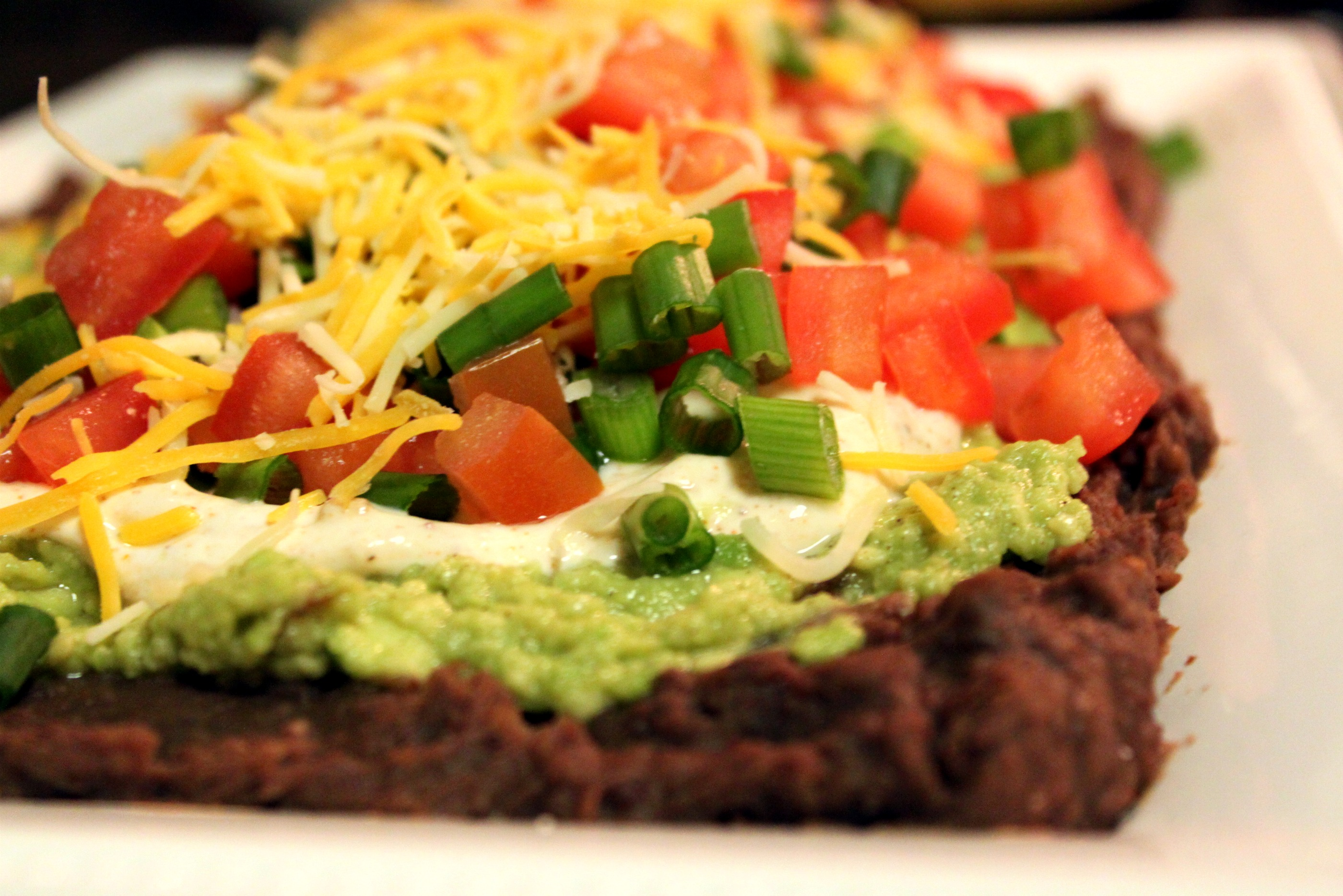 ... layer mexican dip 2 seven layer cookies image individual 7 layer bean